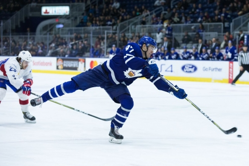 Maple Leafs sign four players to ELCs
