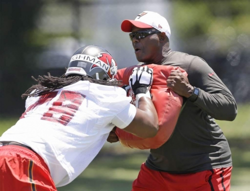 George Warhop on Donovan Smith: 'You have something here that's special'