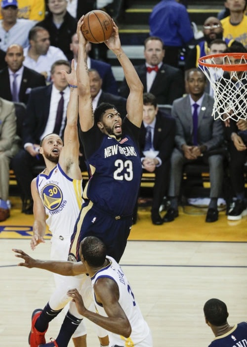 Pelicans star Anthony Davis a finalist for MVP and Defensive Player of the Year awards