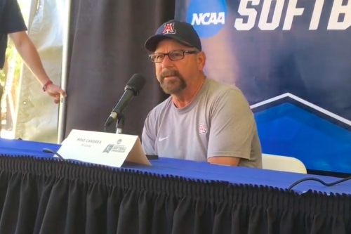 WATCH: Mike Candrea discusses Tucson Regional, Hillenbrand Stadium renovations, and more