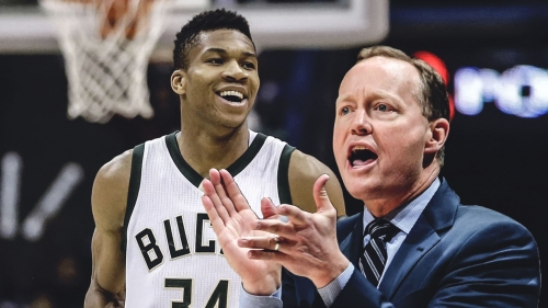 Giannis Antetokounmpo excited to work with Mike Budenholzer
