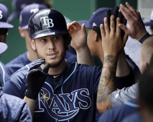 Consistent playing time suits Rays' C.J. Cron just fine
