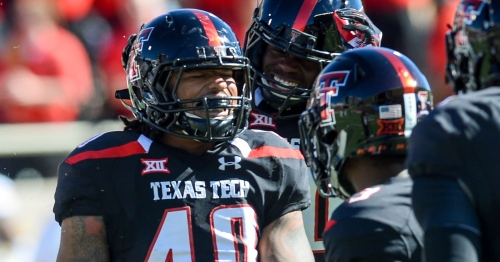 LB Dakota Allen to toss first pitch at Texas Rangers game during 'Texas Tech night'