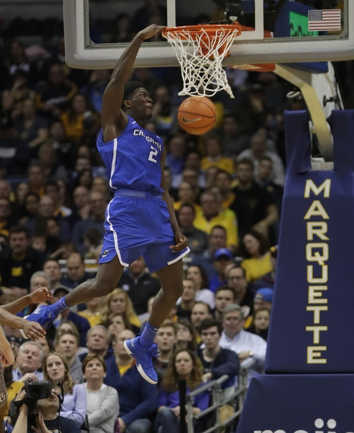 Creighton's Thomas could fit in with Bucks' 'Team All-Length'