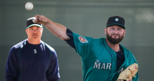 Mariners call up reliever Ryan Cook, who makes it back after two seasons of injuries