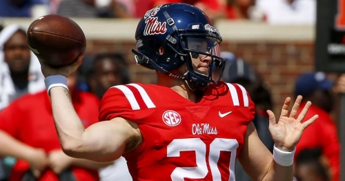 Sports Illustrated analyst believes Shea Patterson 'was going to lose' starting QB job at Ole Miss prior to transferring