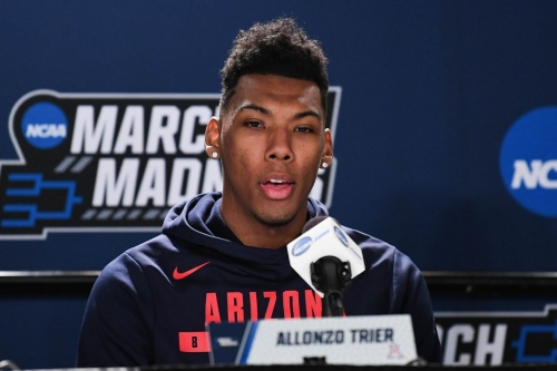 Allonzo Trier, Rawle Alkins have mixed results at NBA Combine