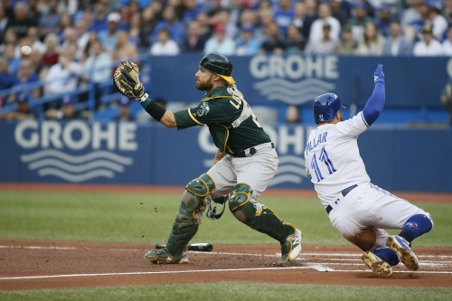 A short outing from Sanchez and lousy relief work adds up to a Jays loss.