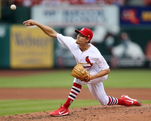 Cards' silent bats can't back up Weaver's strongest start of the season