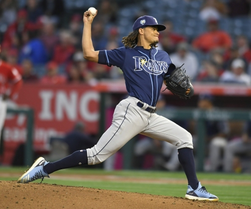 Rays beat Angels 7-1 for fourth straight win, but lose Hechavarria to injury