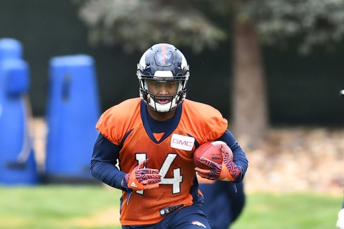 HT: Courtland Sutton says Demaryius Thomas and Emmanuel Sanders have been 'very helpful' so far