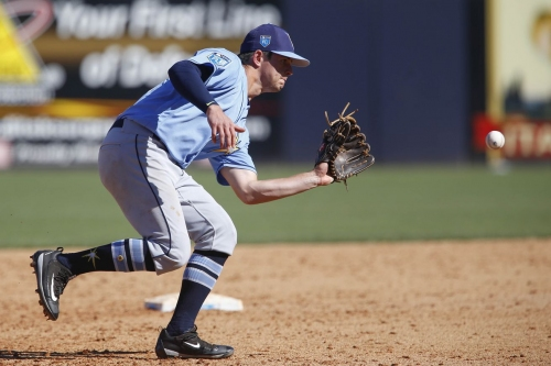 Rays prospects and minor leagues: Solak makes CF debut