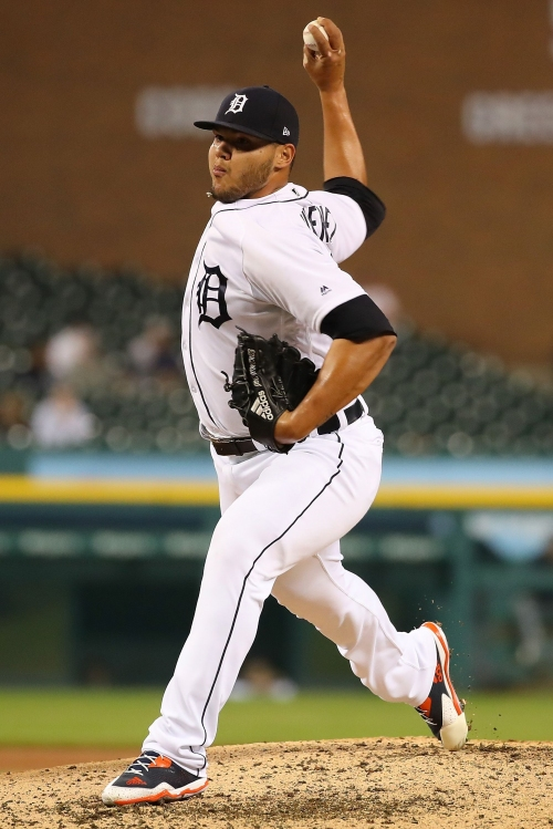 Joe Jimenez 'electric' 8th inning for Tigers something to smile about