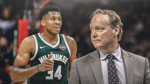 Giannis Antetokounmpo shared breakfast with Mike Budenholzer before hiring