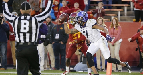 Former TCU WR Kolby Listenbee cut by Colts