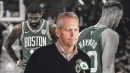 Danny Ainge says it's hard for Kyrie Irving and Gordon Hayward to just sit and watch