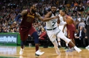 Jaylen Brown continues to relentlessly attack LeBron James and the Cavaliers