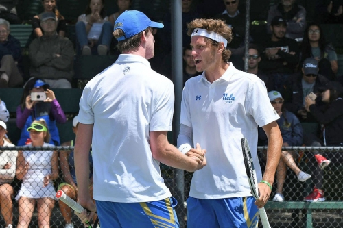 UCLA Men's Tennis To Meet Michigan in Round of 16 at NCAA Championships