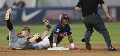 Arizona Wildcats take first game against ASU baseball