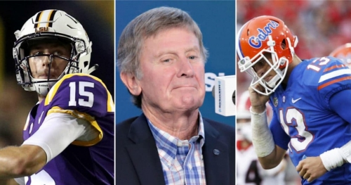 Steve Spurrier on offensive struggles at Florida and LSU: Don't blame it on just the QB
