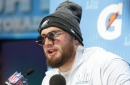 Lane Johnson says the Patriots were talking crap to the Eagles before the Super Bowl