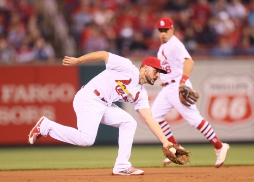 Cardinals' Paul DeJong goes on DL with fractured left hand