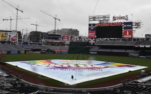 Dodgers-Nationals Series Opener Postponed, Split Doubleheader Scheduled For Saturday