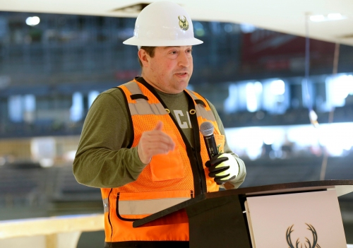 Bucks President Peter Feigin will set aside sales pitch - and vows not to swear - at commencement