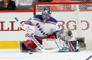 New York Rangers Henrik Lundqvist Returns To The Ice