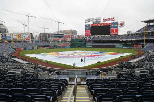 Dodgers rained out in Washington, will try to play two on Saturday