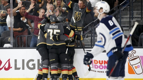 Golden Knights take commanding 3-1 series lead against Jets