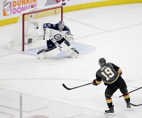 Jets running out of runway as Smith's winner gives Knights 3-1 series lead