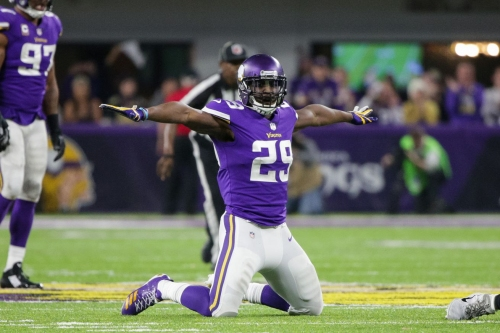 Xavier Rhodes challenges Telvin Smith to race at Jaguars/Vikings joint practices