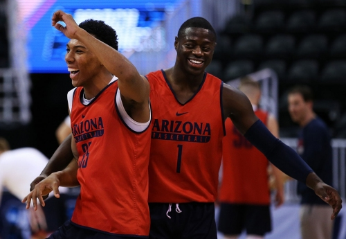 Seen and heard at the NBA combine: Allonzo Trier, Rawle Alkins better in head-to-head matchup