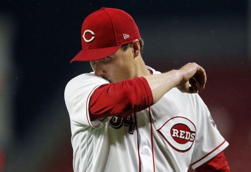 Cincinnati Reds pitcher Homer Bailey roughed up early in loss to Chicago Cubs