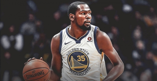 Kevin Durant has been handling pressure to perform consistently since he was a kid