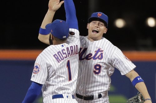 Brandon Nimmo didn't want his chance like this, but he'll take it