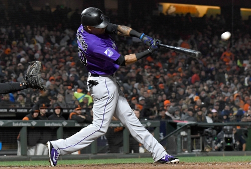 Ian Desmond's bat comes to life as Rockies beat Giants