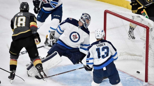 Connor Hellebuyck still learning from the school of hard knocks