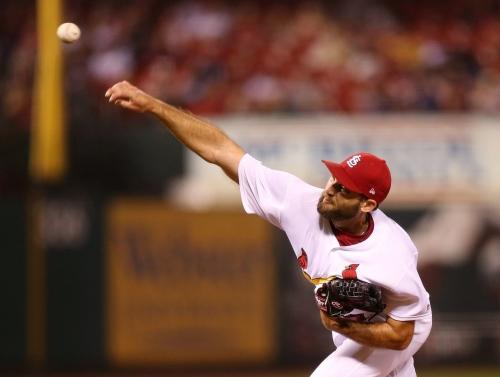 Cardinals back Wacha with season-high 15 hits, beat Phillies