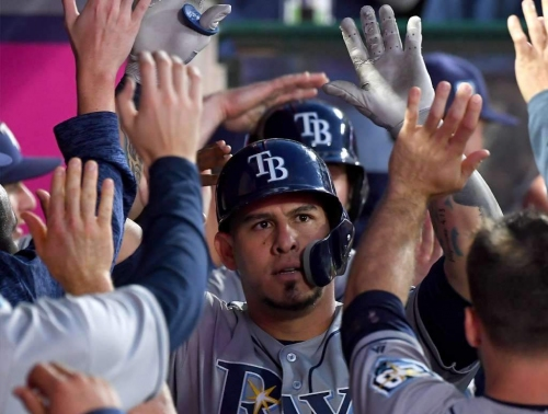 Rays make it five in a row as Ramos leads way past Angels
