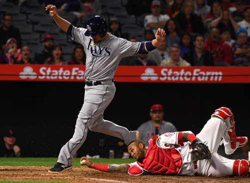 Angels' woes continue against Rays with 8-3 loss