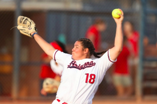 Arizona beats Saint Francis behind McQuillin's gem, Harper's homer
