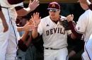 ASU Baseball: Hunter Bishop's big night evens series against Arizona