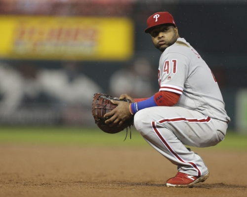 Martinez drives in 5, Cardinals rout Phillies 12-4