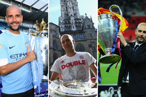 Where Man City's incredible season ranks in Pep Guardiola career
