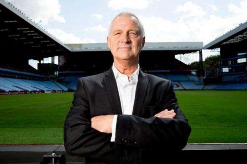Aston Villa hero shows the effects of his Villa Park brilliance