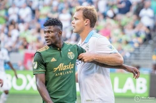 Chad Marshall reflects on career milestone