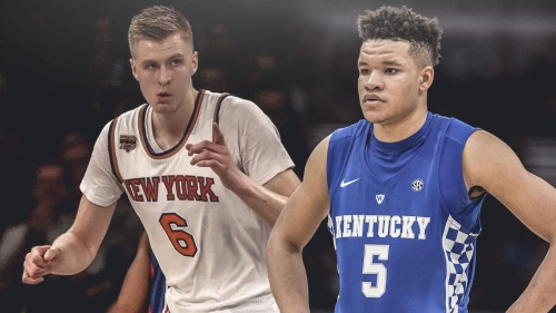 Kentucky's Kevin Knox being drafted by New York dependent in fit with Kristaps Porzingis