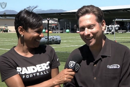 Raiders announcer Greg Papa rumored to be interested in 49ers job after Vegas move